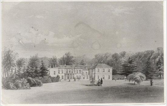 Painting of Parlington Hall