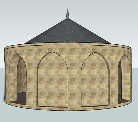 Round House with roof?