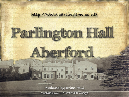 Parlington Talk Intro Page