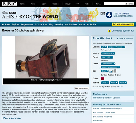 BBC The World in a Hundred Objects